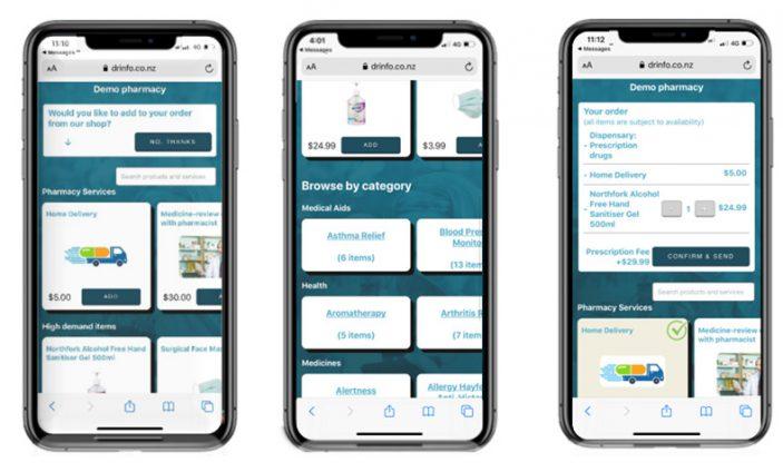 reScript Store on mobile